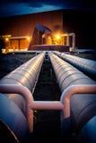 Encanamento da energia Geothermal imagens de stock royalty free