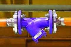 Encanamento industrial Imagem de Stock Royalty Free