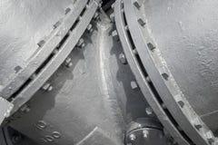 Encanamento industrial da água imagens de stock