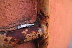 Encanamento oxidado foto de stock