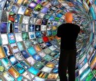 Encanamento video Foto de Stock