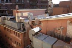 Encanamentos do telhado Imagens de Stock Royalty Free