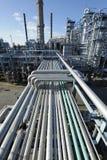 Encanamentos e indústrias petroleiras Foto de Stock