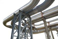 Encanamentos industriais Foto de Stock Royalty Free