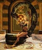 A encantadora 3d CG da serpente Imagens de Stock Royalty Free