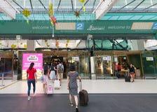 Encante al aeropuerto de KLIA 2, Kuala Lumpur Fotos de archivo