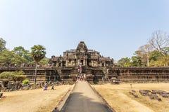 Encante al templo de Phuon de los vagos, Angkor Thom, Siem Reap, Camboya Imagen de archivo