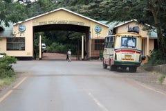 Encante la puerta al cráter Tanzania del área de la protección de Ngorongoro imágenes de archivo libres de regalías