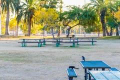 Encanto公园野餐区 免版税库存照片