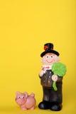 Encanto afortunado com chaminé-varredura Imagens de Stock