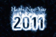 Encanto de la Feliz Año Nuevo Imagen de archivo