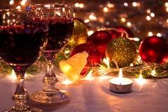 Encanto del Año Nuevo y de la Navidad Fotografía de archivo