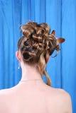 Encanto do penteado Imagens de Stock