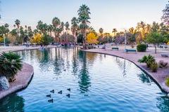 Encanto parka kanał Obrazy Royalty Free