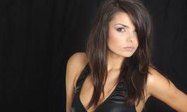 Encanto y muchacha atractiva Fotografía de archivo