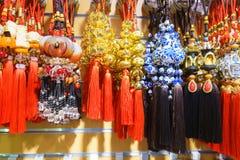 Encantos de Lucky Chinese Imagen de archivo libre de regalías