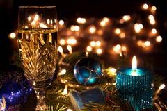 Encantos del Año Nuevo y de la Navidad Imagenes de archivo
