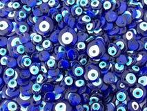 Encantos del ojo malvado Fotografía de archivo