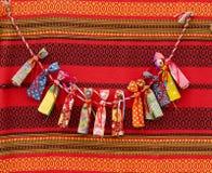Encantos rústicos rusos handcrafted Imagen de archivo