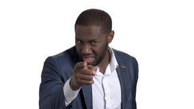 Encargado anerican africano que le acusa y que culpa metrajes