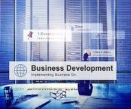 Encargado Concept de Thinking Leadership Contemplation del hombre de negocios fotos de archivo libres de regalías