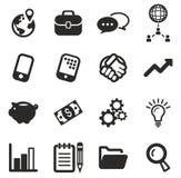 Encargado Icons Foto de archivo libre de regalías