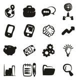 Encargado Icons Freehand Fill Foto de archivo libre de regalías
