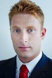 Encargado moderno Businessman en el vestido formal - portr Fotografía de archivo libre de regalías