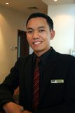 Encargado o supervisor de hotel fotos de archivo libres de regalías