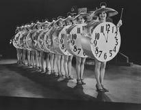 Encargados del tiempo Imagen de archivo libre de regalías