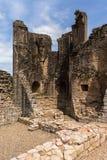Encargados Tower Ruins del castillo de Kildrummy Fotografía de archivo
