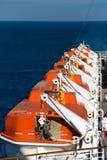Encarregados do navio de cruzeiros Imagem de Stock Royalty Free