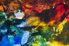 An encaustic colors stock photography