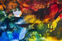 An encaustic colors Stock Photography