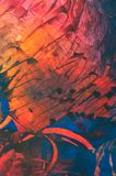 Like on mars. Encaustic, texture of abstract wax painting, composition image detail vector illustration