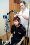 Encefalograma Imagens de Stock