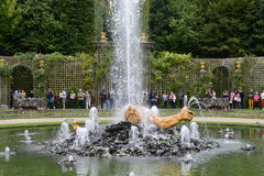 Enceladus Grove in the park of  Versailles Palace Stock Photography