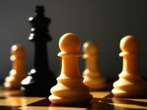 Encenação II da xadrez fotos de stock