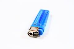 Encendedor azul Foto de archivo libre de regalías