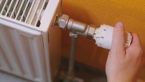Encender la calefacción almacen de video