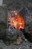 Encendido del infierno Fotografía de archivo libre de regalías