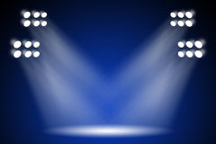 Encene luzes Fotos de Stock