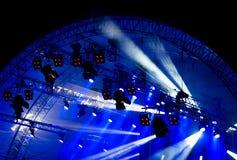 Encene luzes Imagens de Stock Royalty Free