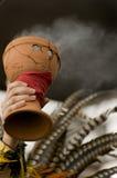Encens aztèque Photo libre de droits