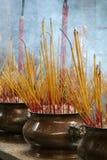 Encens brûlant Photo libre de droits