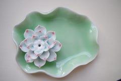 encensoir de porcelaine Image libre de droits