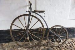 Encentmynt-Farthing cykel Royaltyfri Fotografi