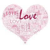 Encha seu coração com o amor Fotos de Stock Royalty Free