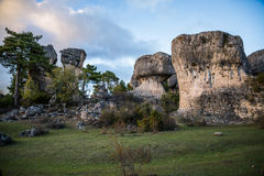 Enchanted city of Cuenca. Stock Photography