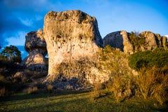 Enchanted city of Cuenca. Royalty Free Stock Photos